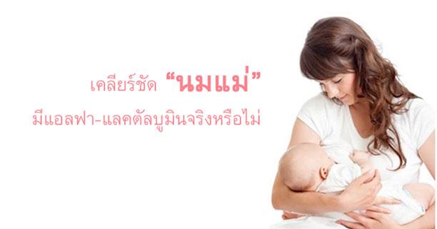 นมแม่, น้ำนมแม่, เลี้ยงลูกด้วยนมแม่, สารอาหารในนมแม่, ประโยชน์ของนมแม่, แอลฟา-แลคตัลบูมินในนมแม่, แอลฟา-แลคตัลบูมิน