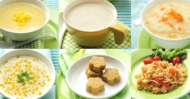 เมนูนม อาหารเสริมเด็กวัย 6-12 เดือน