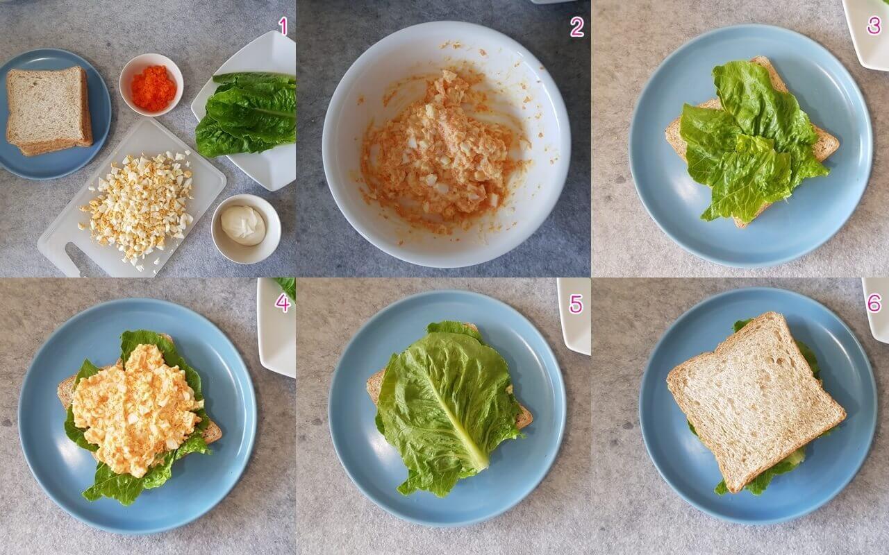 เมนูไข่, เมนูแซนด์วิช, เมนูขนมปัง, แซนด์วิชง่ายๆ, สูตรทำแซนด์วิช, อาหารเด็ก, เมนูสำหรับเด็ก, เมนูไข่สำหรับเด็ก, สูตรอาหาร, ไข่ต้ม, มีไข่ในตู้เย็น, มีไข่ในตู้เย็นทำอะไรดี, ไข่ต้มทำอะไรกิน, เมนูไข่ต้ม