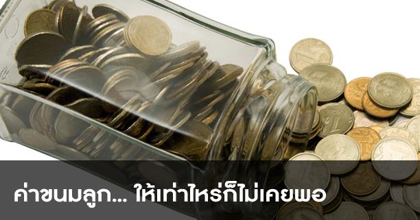 ค่าขนมลูก,ค่าขนม,ออมเงินลูก,ประหยัด,ให้เงินลูก,วินัยการเงิน,ฝึกลูกใช้เงิน,