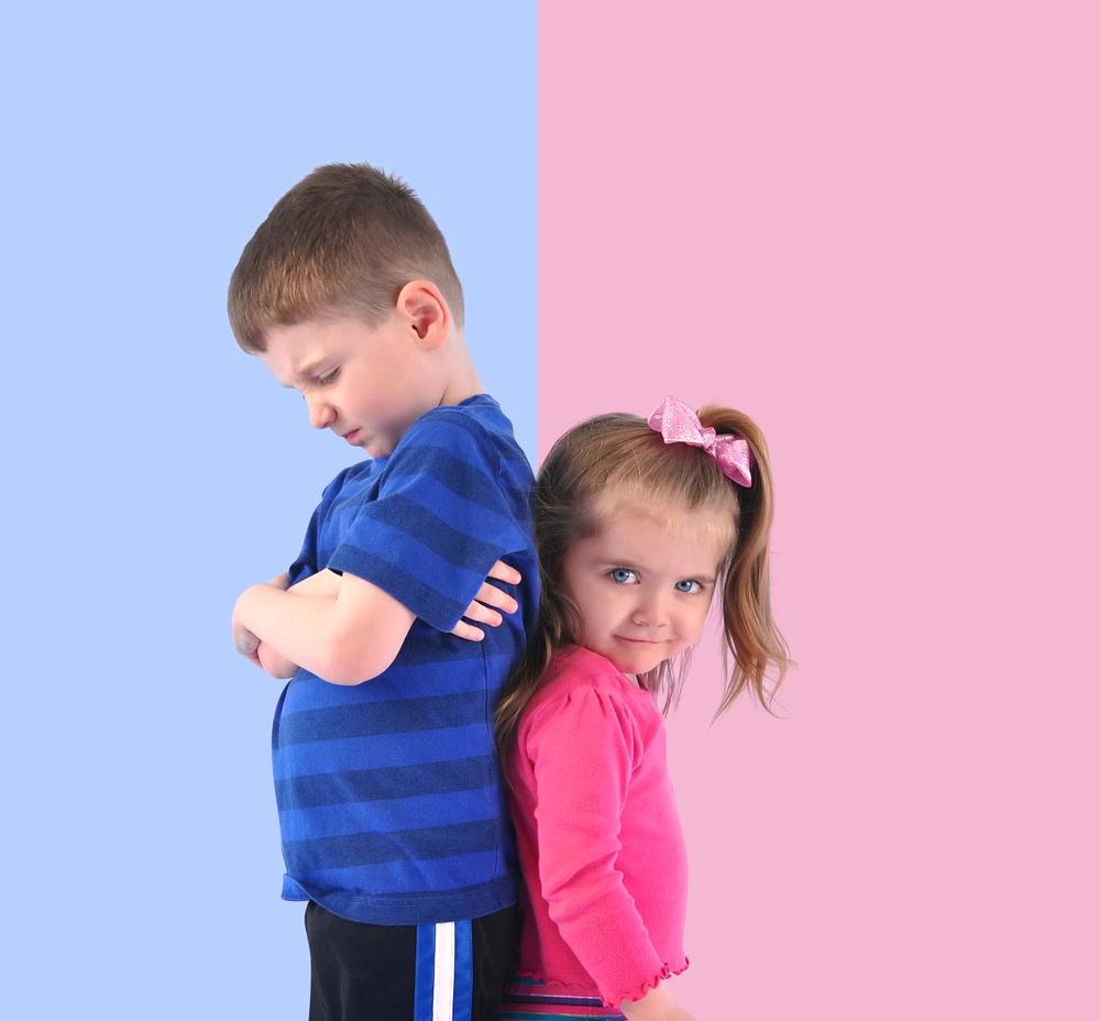 ไขปริศนา,ผู้ชายสีฟ้า,ผู้หญิงสีชมพู,เด็กผู้ชายใส่สีฟ้า,เด็กผู้หญิงใส่สีชมพู,boy blue,girl pink,สีฟ้าของเด็กผู้ชาย, สีชมพูของเด็กผู้หญิง