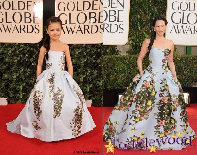 แฟชั่นเด็ก, ดาราเด็ก, เซเลบเด็ก, แฟชั่นพรมแดง, Hollywood, Golden Globe Awards, Grammy Awards