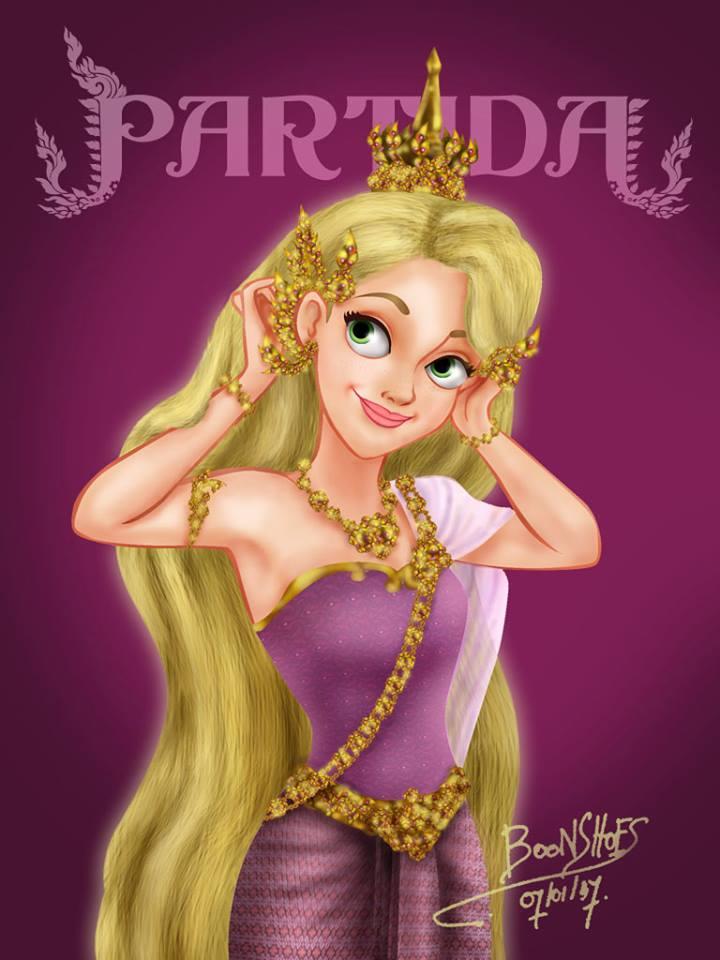 Rapunzel จากเรื่อง Tangled (ราพันเซล เจ้าหญิงผมยาวกับโจรซ่าจอมแสบ)
