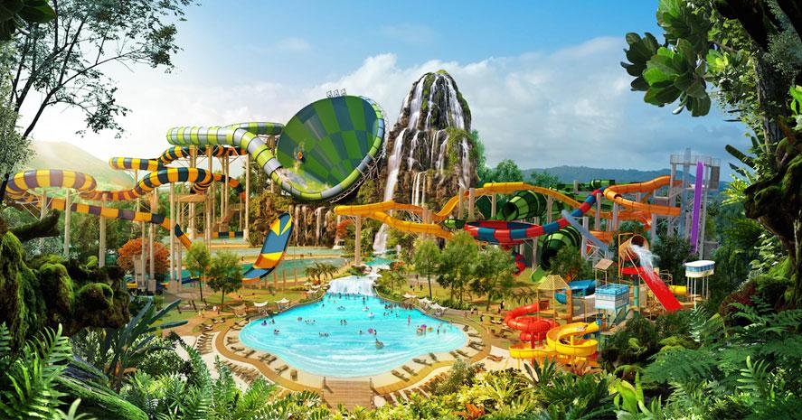 สวนน้ำ,ท่องเที่ยว,ครอบครัว,หัวหิน,สวนสนุก,ปิดเทอม,วันหยุด,เที่ยวครอบครัว,สไลเดอร์,พาลูกเที่ยว,