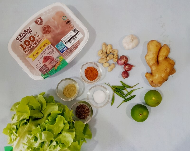 อาหารแม่ท้อง, อาหารคนท้อง, อาหารแก้เลี่ยน, เมี่ยงคนท้อง, สูตรเมี่ยงไก่คั่ว, เมี่ยงไก่, เมี่ยงไก่คั่ว, เมนูแม่ท้อง