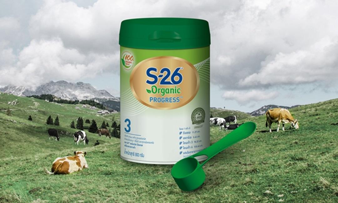 นมผงออร์แกนิค, นม, ฟาร์มโคนม, นมออร์แกนิค, S26OrganicProgress , Wyeth Nutrition , การเลี้ยงลูก , รักของแม่รักแท้บริสุทธิ์